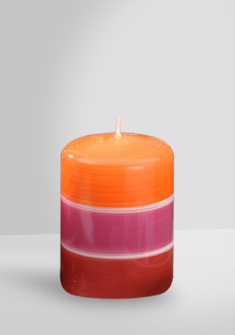 Designkerze Bella 040-10070-54 pink