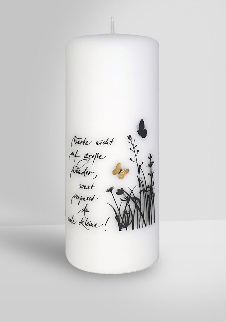Poesie-Kerze - Große Wunder -2816-20080-10